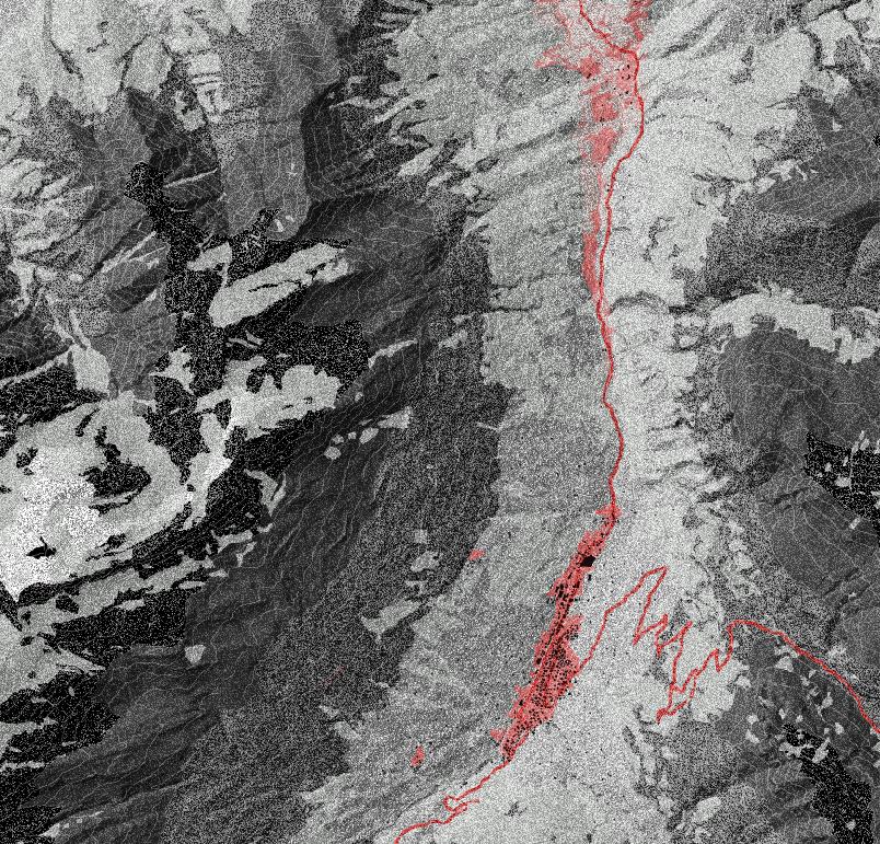 diane étude urbaine du relief Suisse pour un aménagement du territoire hybridé avec le paysage