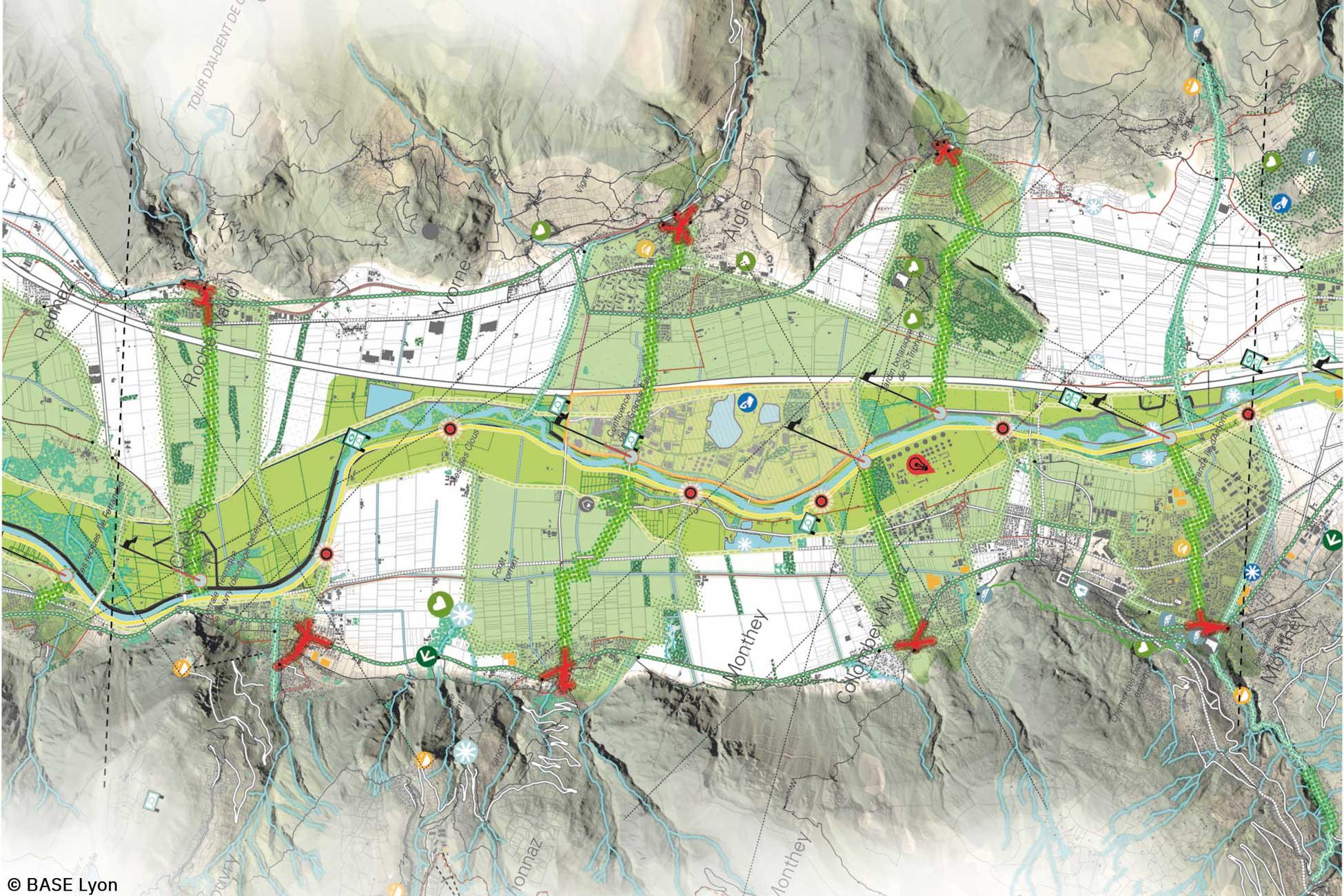 Plan guide Base actéon Rhone MEP
