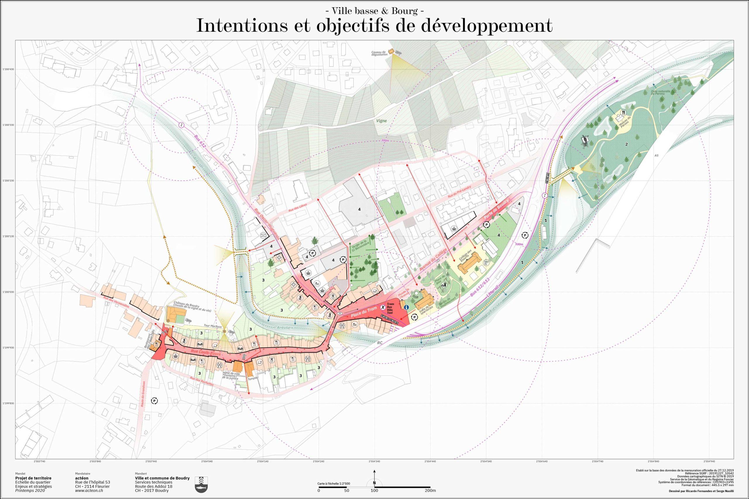 Urbanisme et aménagement des territoires canton de Neuchâtel actéon