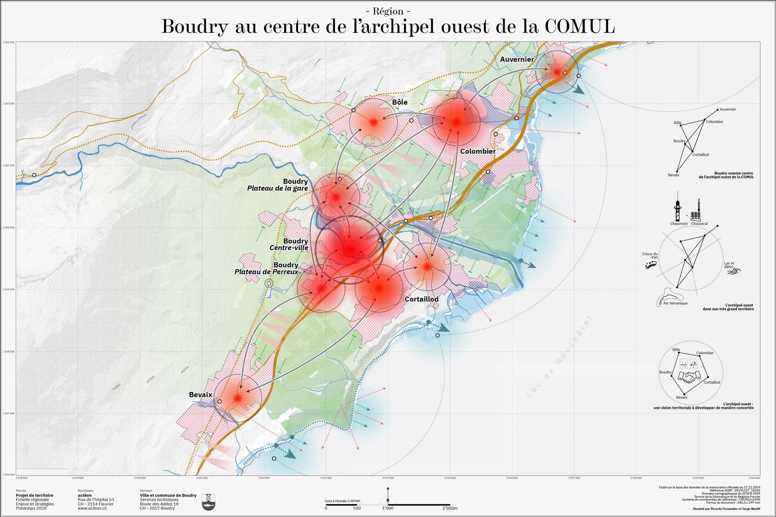 COMUL cartographie urbanisme actéon