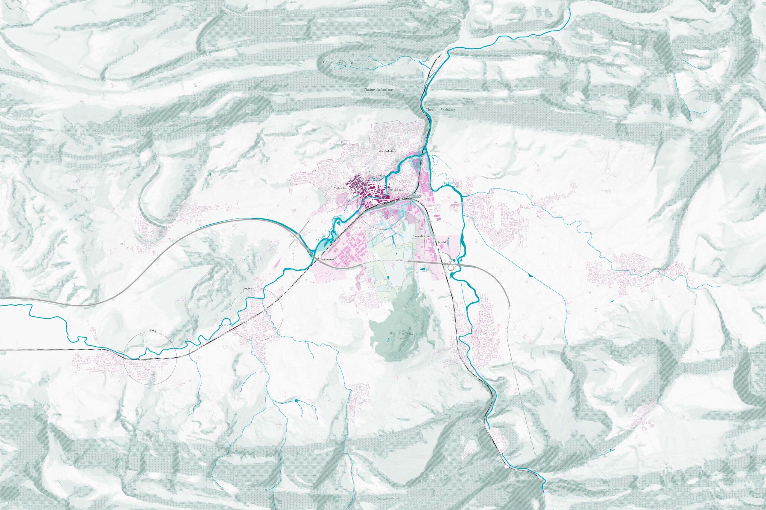 MEP sur Gare Sud à Delémont - Delémont dans les plis du Jura