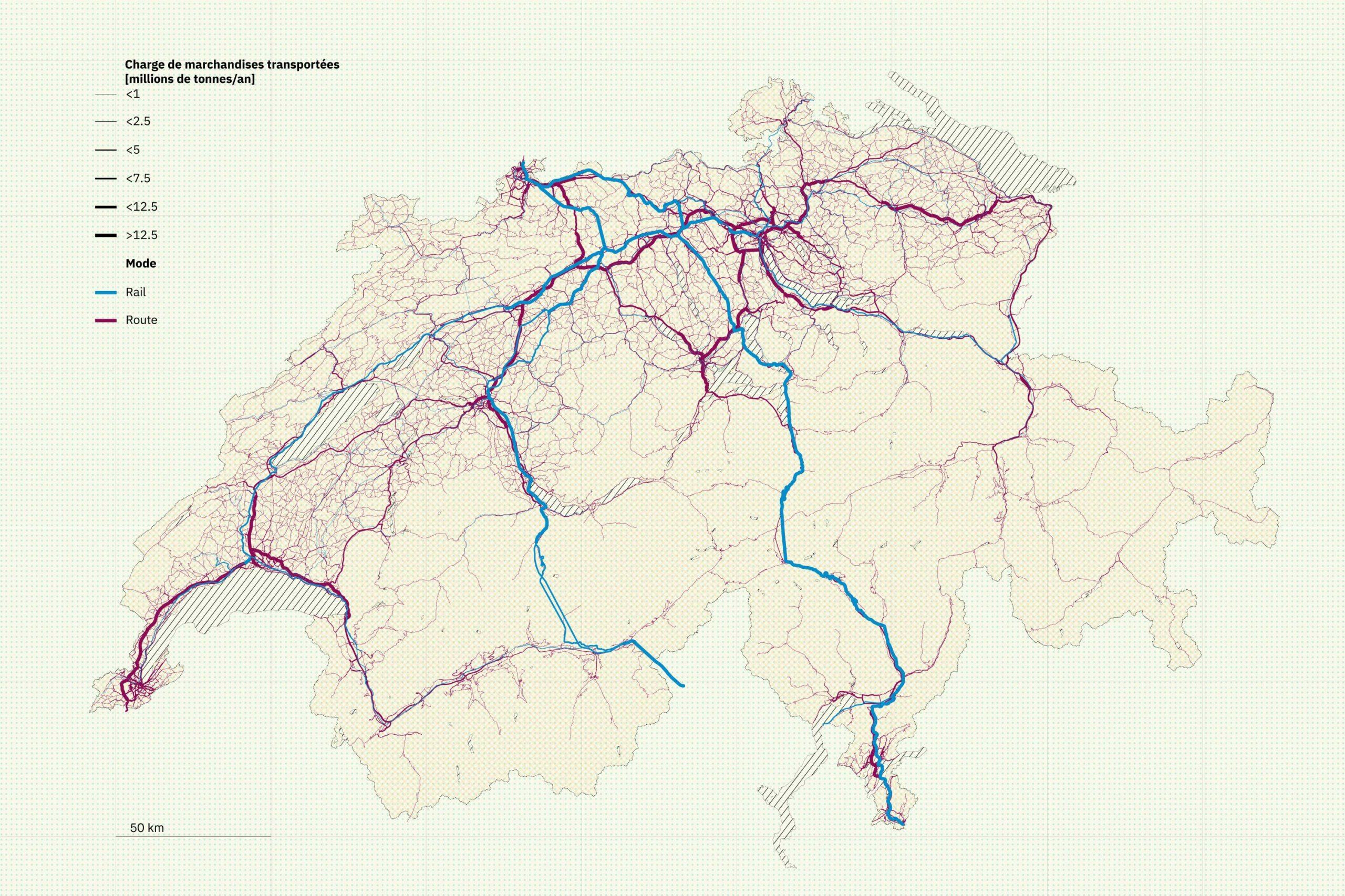 Stratégie cantonale du transport de marchandises - Vaud